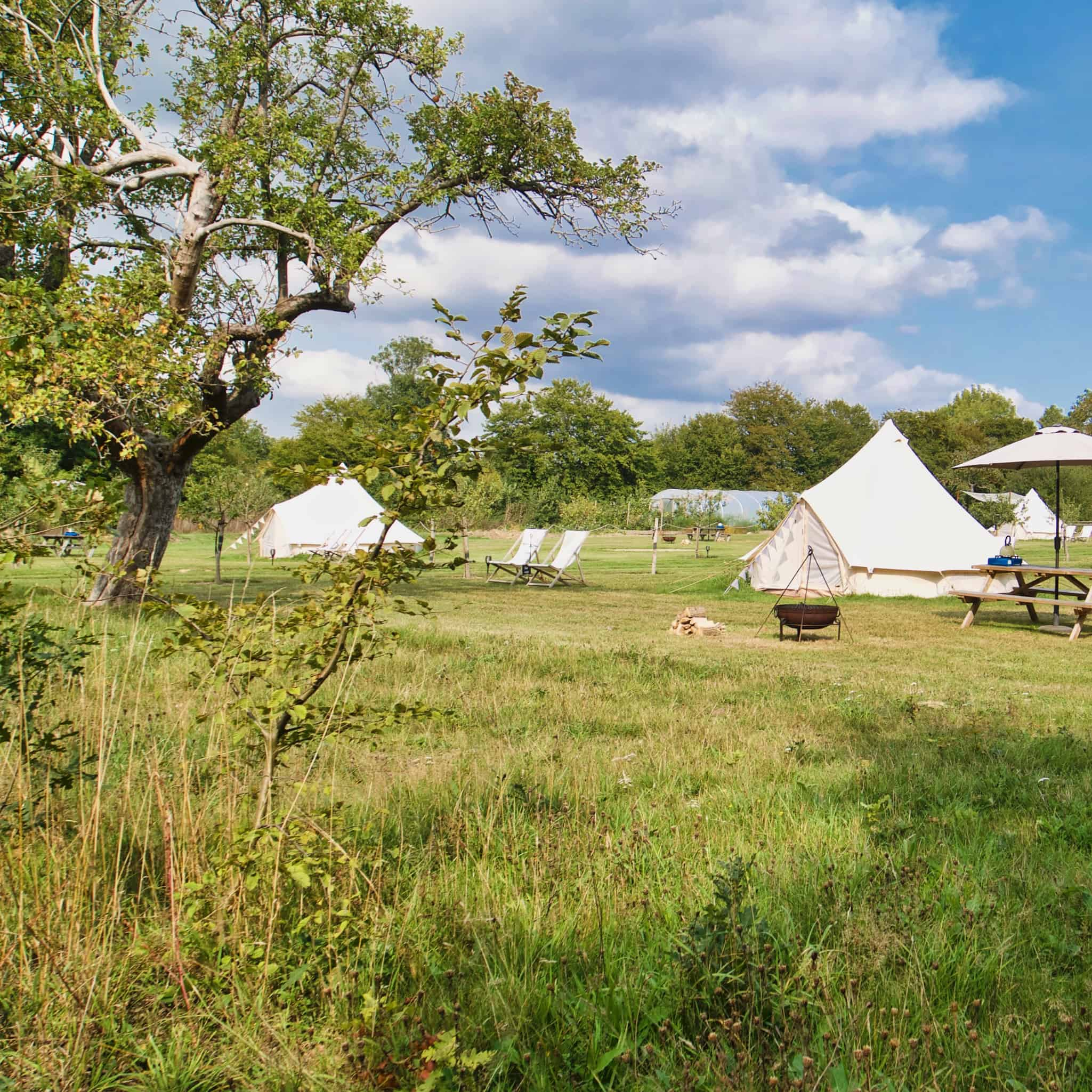 glamping in kent square