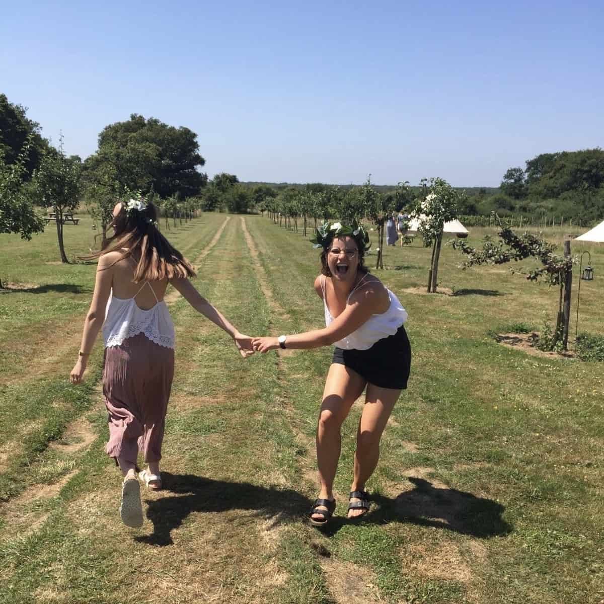 hen do in kent glamping site