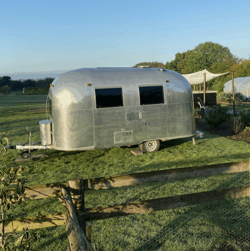 hire a stunning airstream in kent